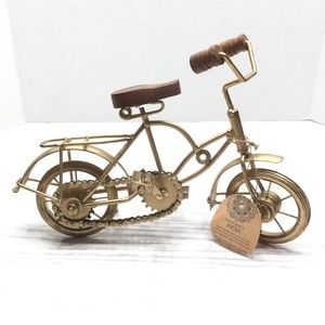 IndiaArtisans Handcrafted Metal Bicycle Sculpture